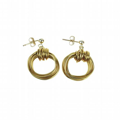 Aphrodite Earrings - Gold